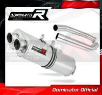 Laděný výfuk DOMINATOR Honda VTR 1000 SP2 02-06 OVÁLNÉ KONCOVKY