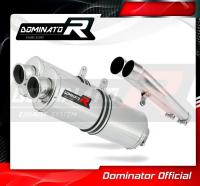 Laděný výfuk DOMINATOR Honda CBR1100XX 96-06 OVÁLNÉ KONCOVKY