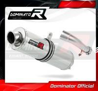 Laděný výfuk DOMINATOR Honda CB500X 13- KULATÁ KONCOVKA STANDART