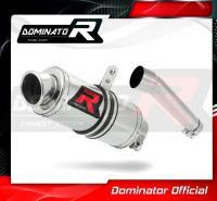 Laděný výfuk DOMINATOR Honda CBR 600 F1 / F2 / F3 KULATÁ KONCOVKA KRÁTKÁ GP1