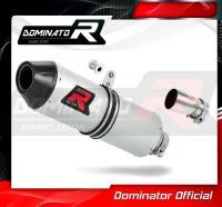 Laděný výfuk DOMINATOR KTM EXC350 12-15 OVÁLNÁ KONCOVKA MX2