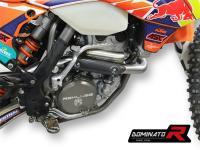 Laděný výfuk DOMINATOR KTM EXC350 12-15 KOLENO VÝFUKU S POWER BOMB