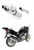 Laděný výfuk DOMINATOR Honda CBF 1000 04-09 KULATÉ KONCOVKY STANDART