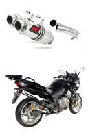 Laděný výfuk DOMINATOR Honda CBF 1000 04-09 KULATÉ KONCOVKY KRÁTKÉ GP1