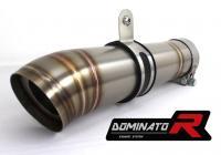 Laděný výfuk DOMINATOR BMW S1000RR 12-14 KONICKÁ KONCOVKA GP 2 pod stupačku